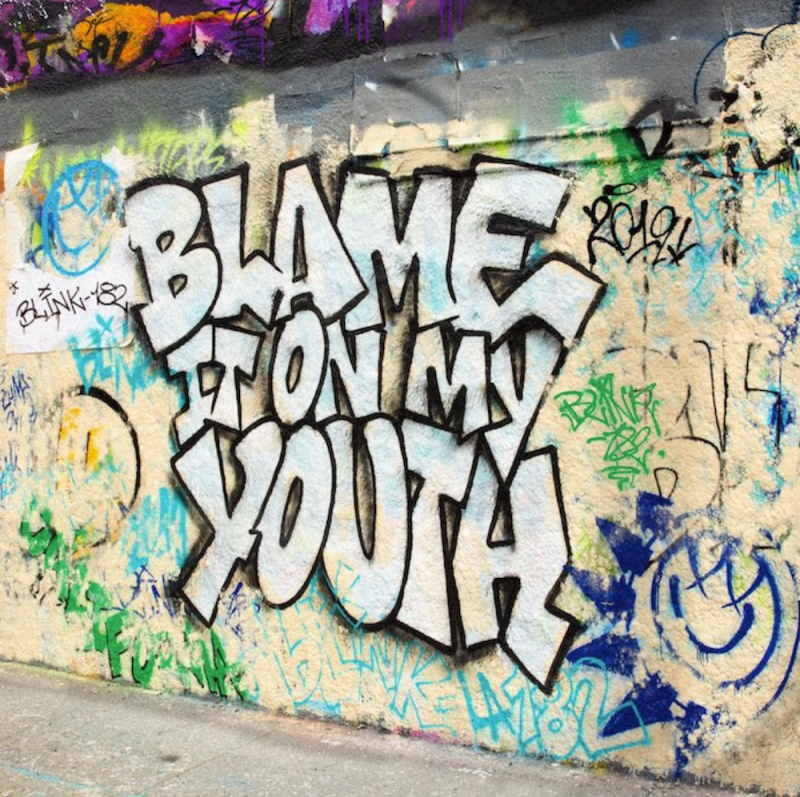 blame on youth new song blink 182 artwork Blink 182 return with new song Blame It on My Youth: Stream