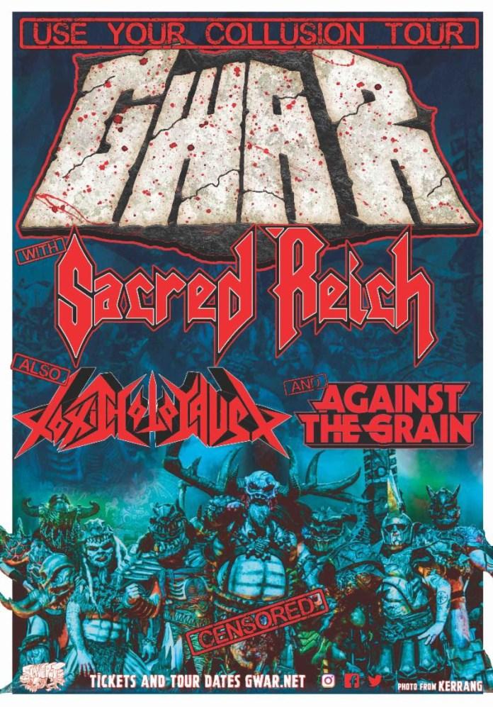 Gwar Fall 2019 Tour Poster