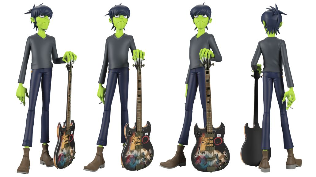 GorillazToys 02 copy Gorillaz Unveil New Line of Luxe Vinyl Toys