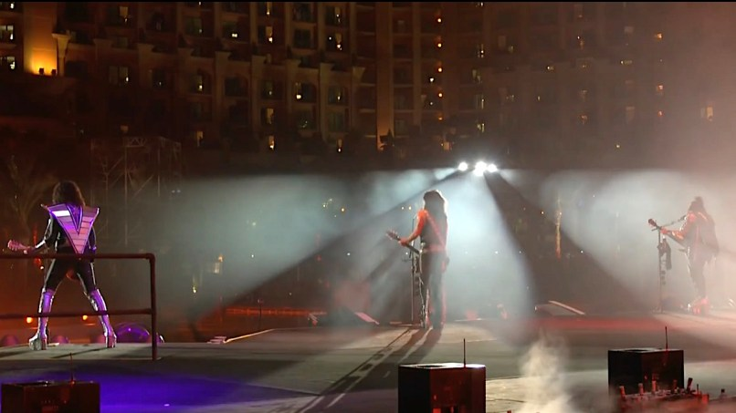 KISS Livestream from Dubai
