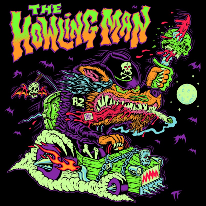 Rob Zombie The Howling Man single artwork