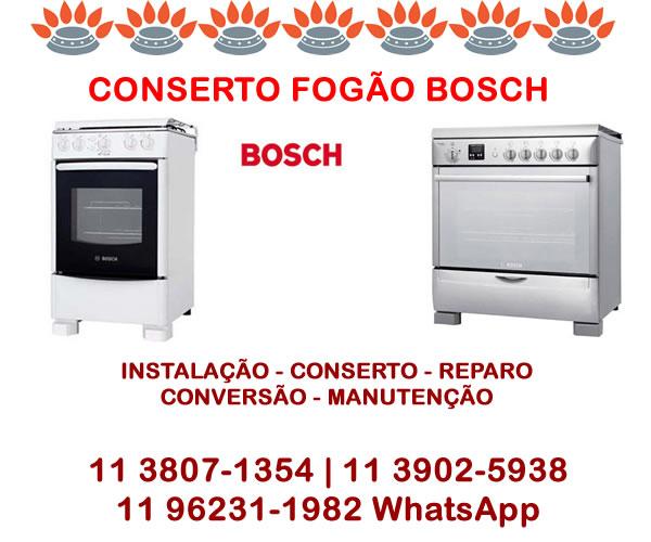Conserto Fogão Bosch