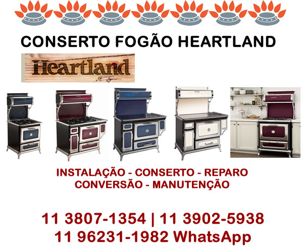 Conserto Fogão Heartland