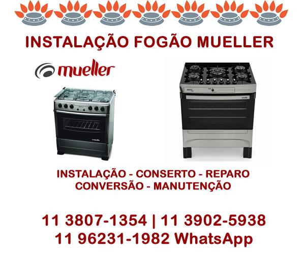 Instalação Fogão Mueller