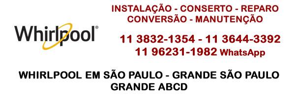 Whirlpool São Paulo - grande São Paulo - grande ABCD