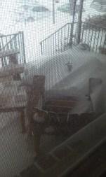 Snowzilla at 1600--my front porch