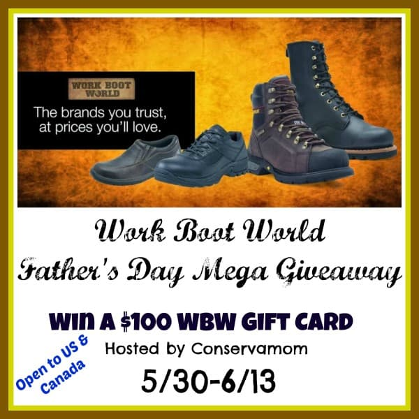 Barbara's Beat: Win $100 Work Boot World GC 6/13