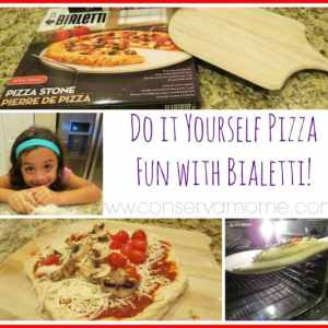 Do it yourself Pizza Fun With Bialetti!