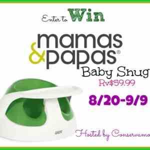 Mamas & Papas Baby Snug Giveaway ends 9/9
