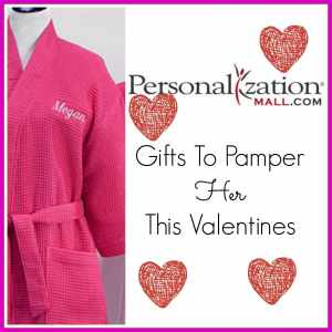 Valentine's Gifts To Pamper Her from Personalization Mall
