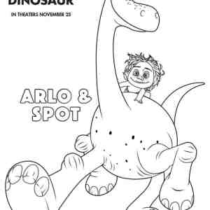 The Good Dinosaur Worksheets & Coloring Pages
