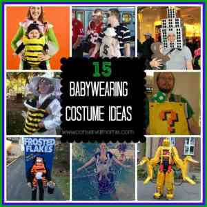 15 Baby Wearing Costume Ideas