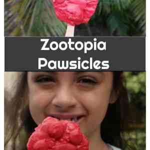 Zootopia Pawsicles Recipe