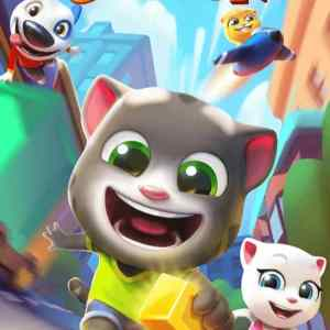 Talking Tom Gold Run app Review