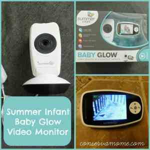 Summer Infant Baby Glow Video Monitor Review