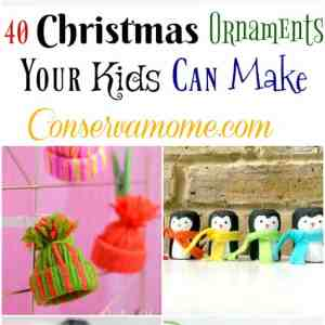 40 Christmas Ornaments Your Kids Can Make
