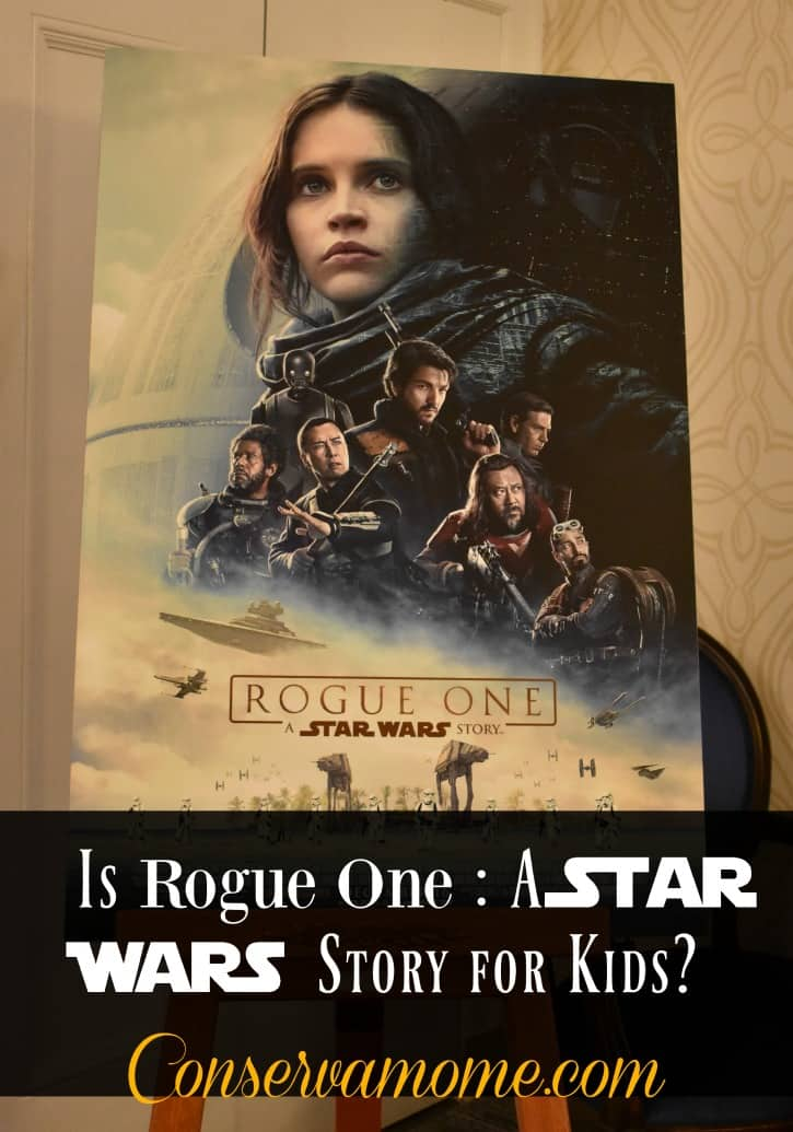 Is Rogue One: A Star Wars Story For kids