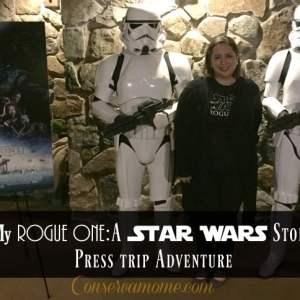 My Rogue One:A Star Wars Story Press trip Adventure