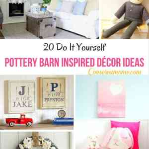 20 Do It Yourself Pottery Barn Inspired Decor Ideas
