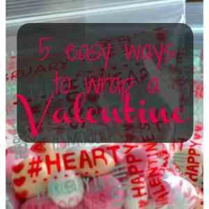 5 Easy Ways to Wrap a Valentine