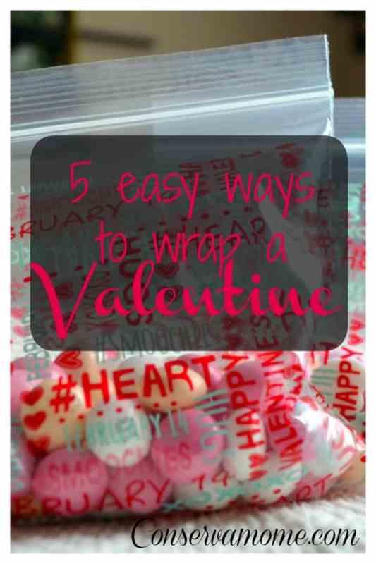 Ways to Wrap a Valentine
