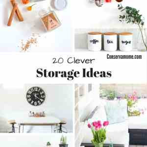 20 Clever Storage Ideas – DIY Ideas To get Organized!