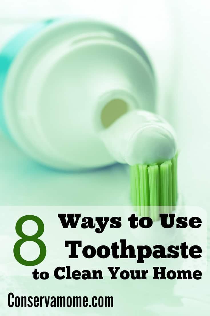 ways to use toothpaste