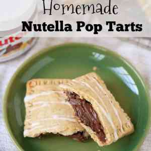 Homemade Nutella Pop Tarts Recipe