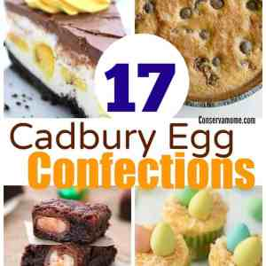 17 Cadbury Egg Confections