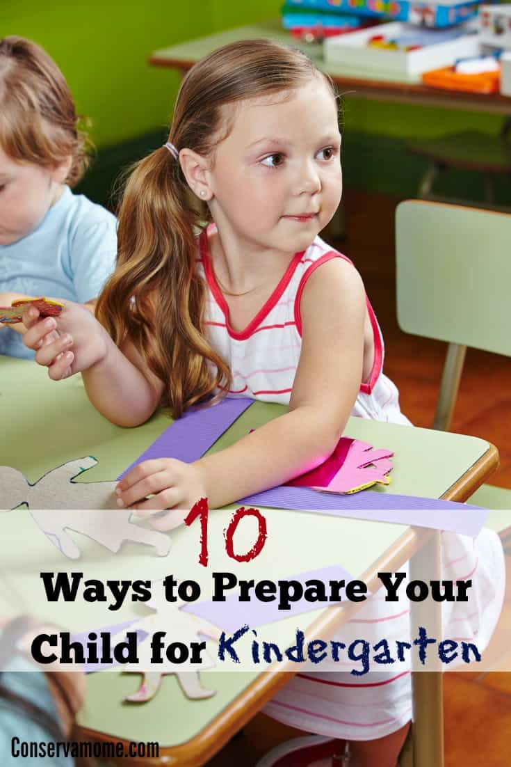 prepare your child for kindergarten