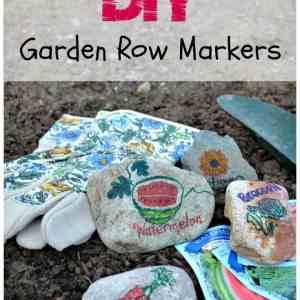 DIY Garden Row Markers