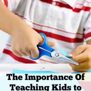 The Importance Of Teaching Kids to Use Scissors