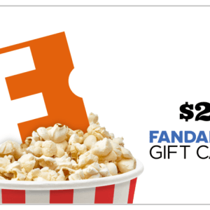 $25 Fandango Gift card Giveaway ends