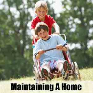 Maintaining A Home Where Boys Live