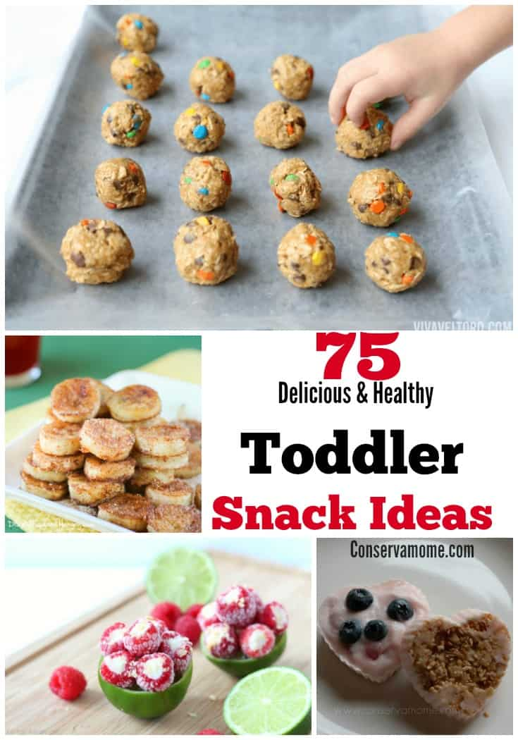 Healthy Toddler Snack Ideas - Healthy Snacks for Toddlers