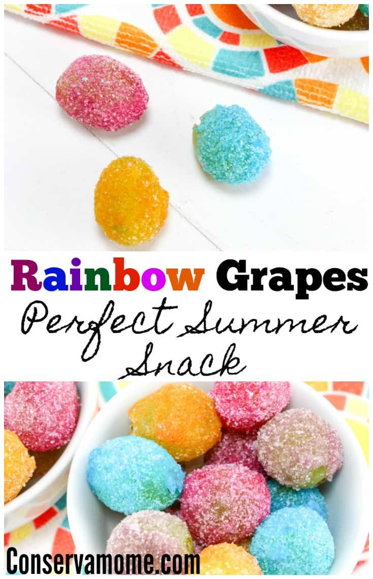 Rainbow Grapes Perfect Summer Snack