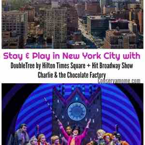 DoubleTree by Hilton Times Square West Partners with Hit Broadway Show Charlie & the Chocolate Factory!