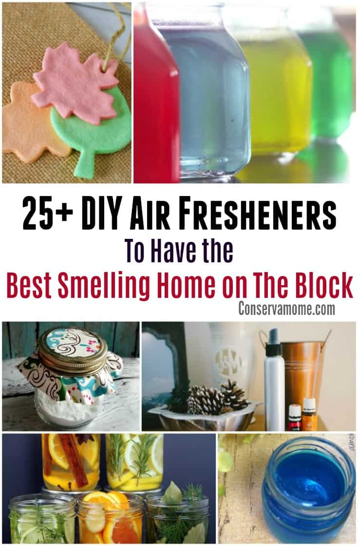 Having the best smelling home on the block just got easier with these 25+DIY Air Fresheners to make.