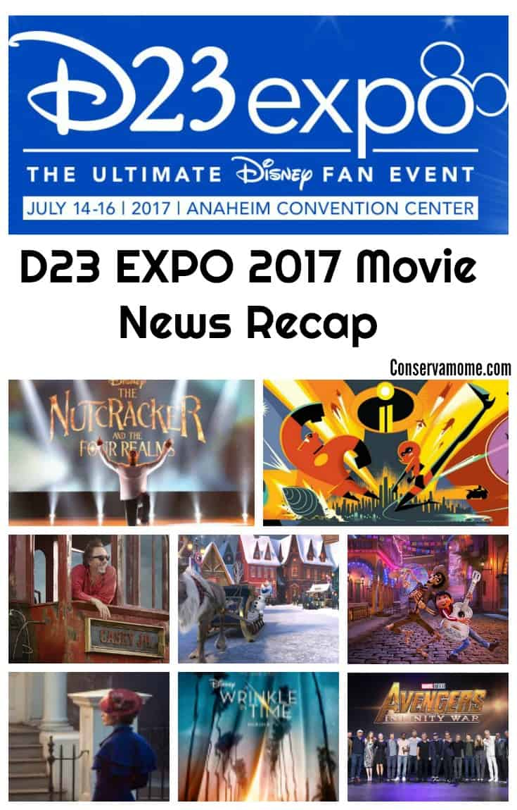 Every two years Disney Fans get to experience all things Disney at the D23 Expo! This year's D23 Expo highlighted some great Disney/Lucas Films & Marvel Movies coming our way in the next couple of years. D23 Check out the D23 EXPO 2017 Movie News Recap