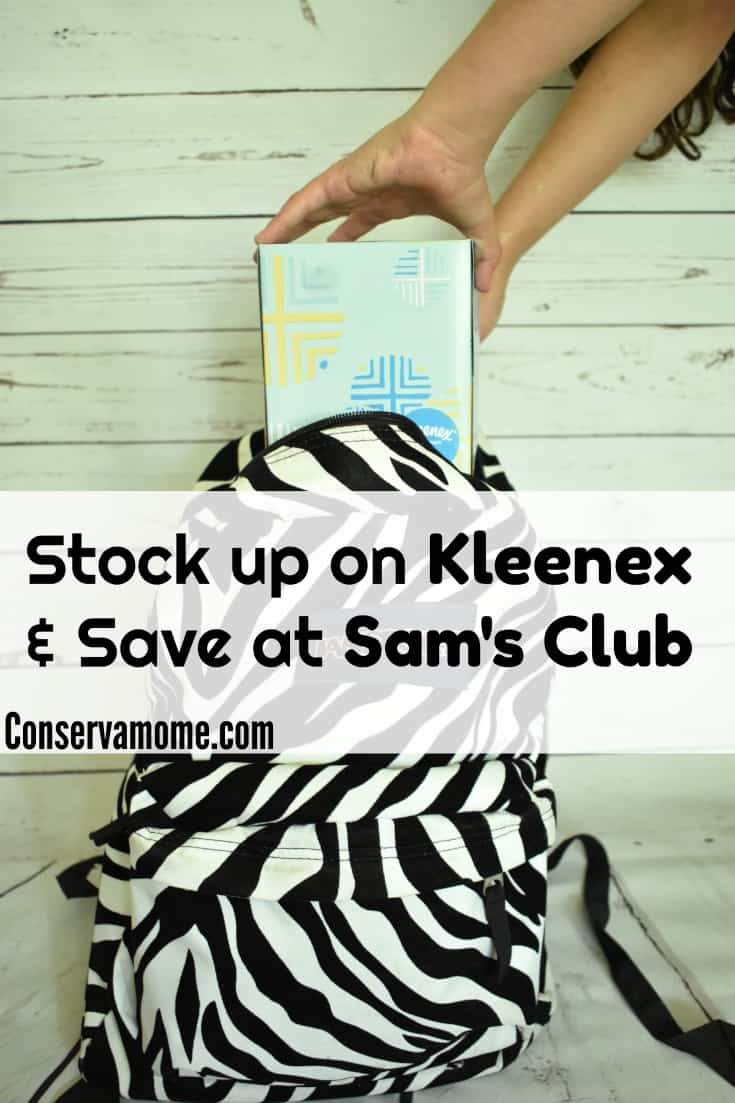 I've teamed up with Sam's Club & Kleenex on a fun sponsored post to show you how you can Stock up on and save at Sam's Club.