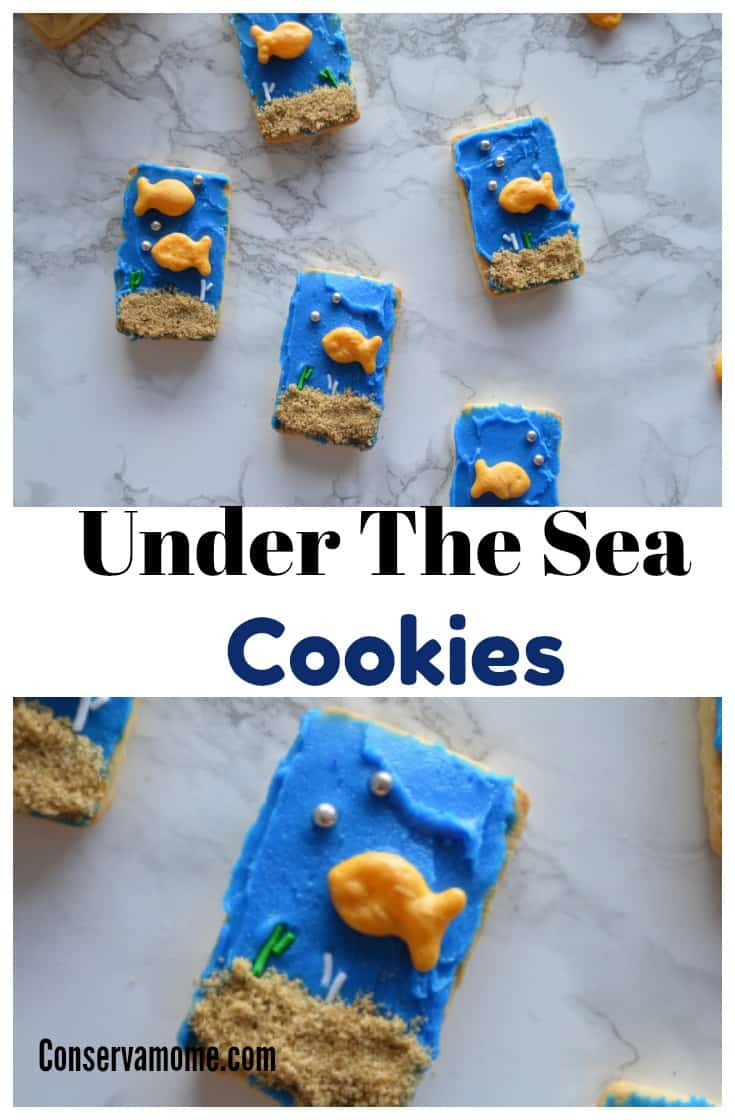 Bring Oceans of fun to your home with these delicious No Bake Under the Sea Cookies that will be the perfect addition to any snack time or party.