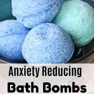 Anxiety Reducing Bath Bombs Recipe