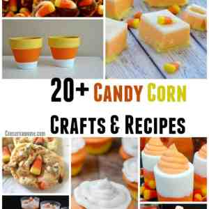 20+ Candy Corn Crafts & Recipes