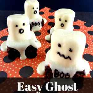 Easy Ghost Brownies Recipe: The Perfect Halloween Treat