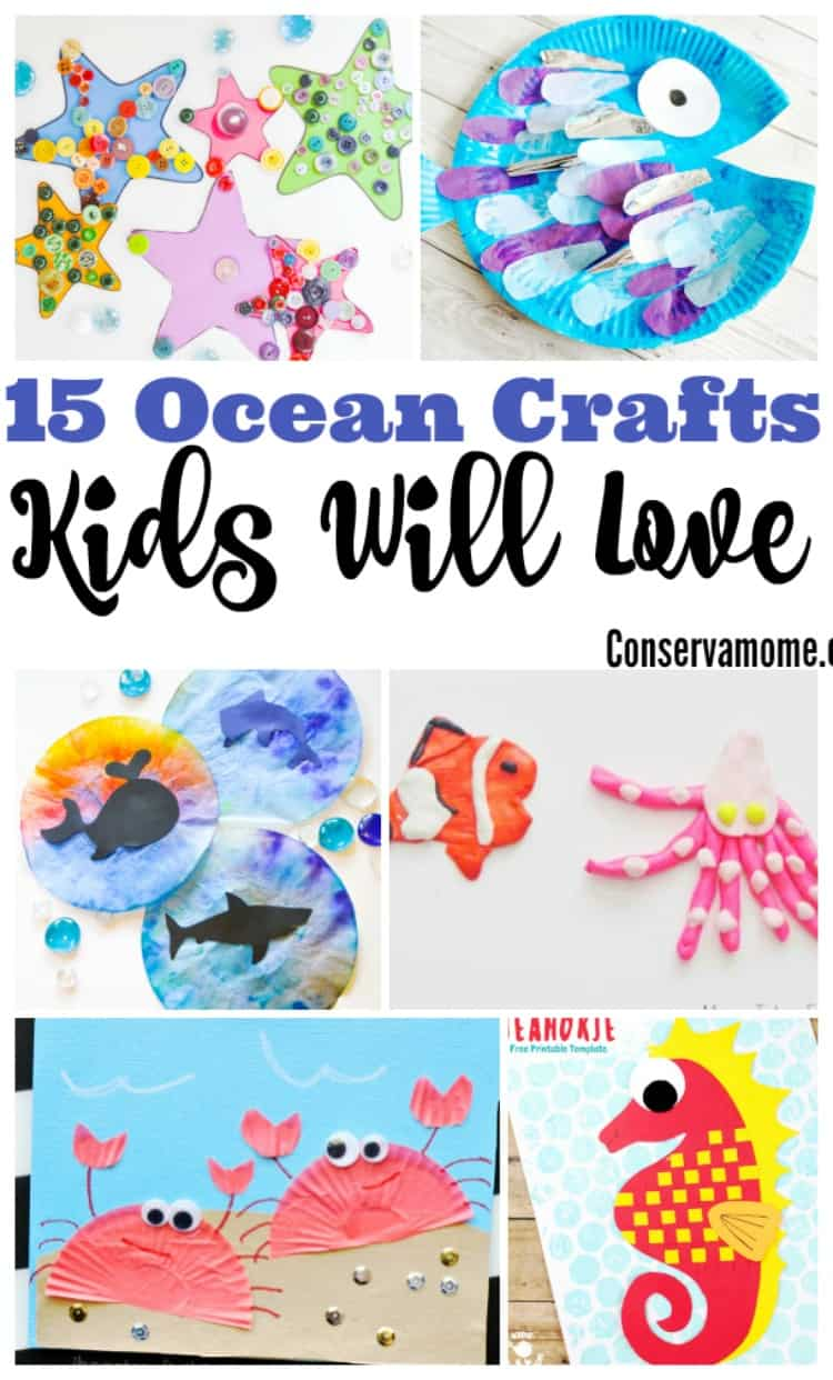 Thanksgiving is one of everybody's favorit. Conservamom 15 Ocean Crafts For Kids That They Will Love Conservamom