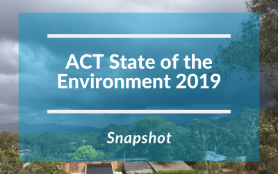Snapshot: ACT State of the Environment Report 2019
