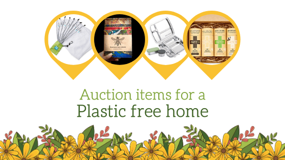 Auction items for a plastic free home