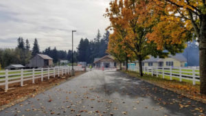 The new Clackamas Soil and Water Conservation District office is almost complete.