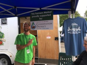 Brendan Eisworth manages the Milwaukie Sunday Farmers Market.