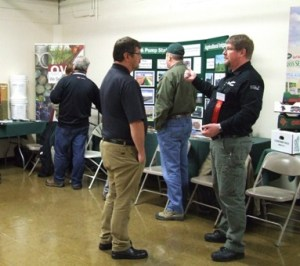 Exhibitors share their latest technology, products, and cultivars with conference attendees.